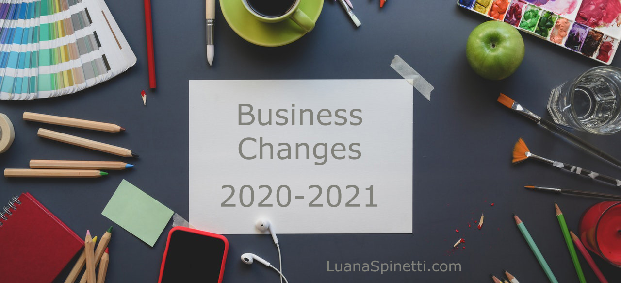 Business Changes 2020-2021: Freelance Blogging and Product Development