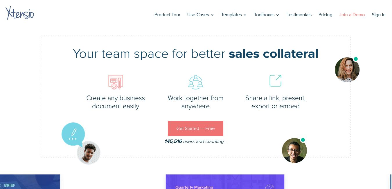 Low cost marketing tools: Xtensio