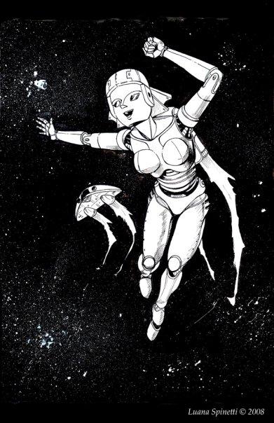 Luana Spinetti, Professional Cartoonist & Comic Artist 1